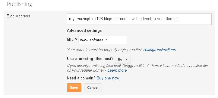 save domain