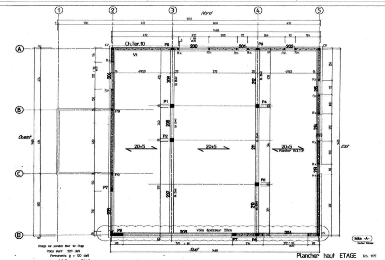 Une maison passive en occitanie janvier 2016 - Plan de coffrage ...