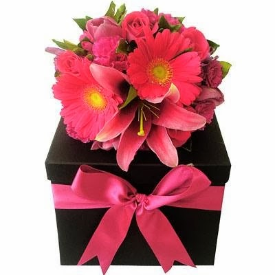 Lovely pink flowers gift pack pink flowers image wallpaper mightylinksfo