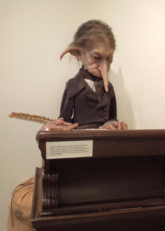 Gringotts goblin puppet Harry Potter Sorcerer's Stone