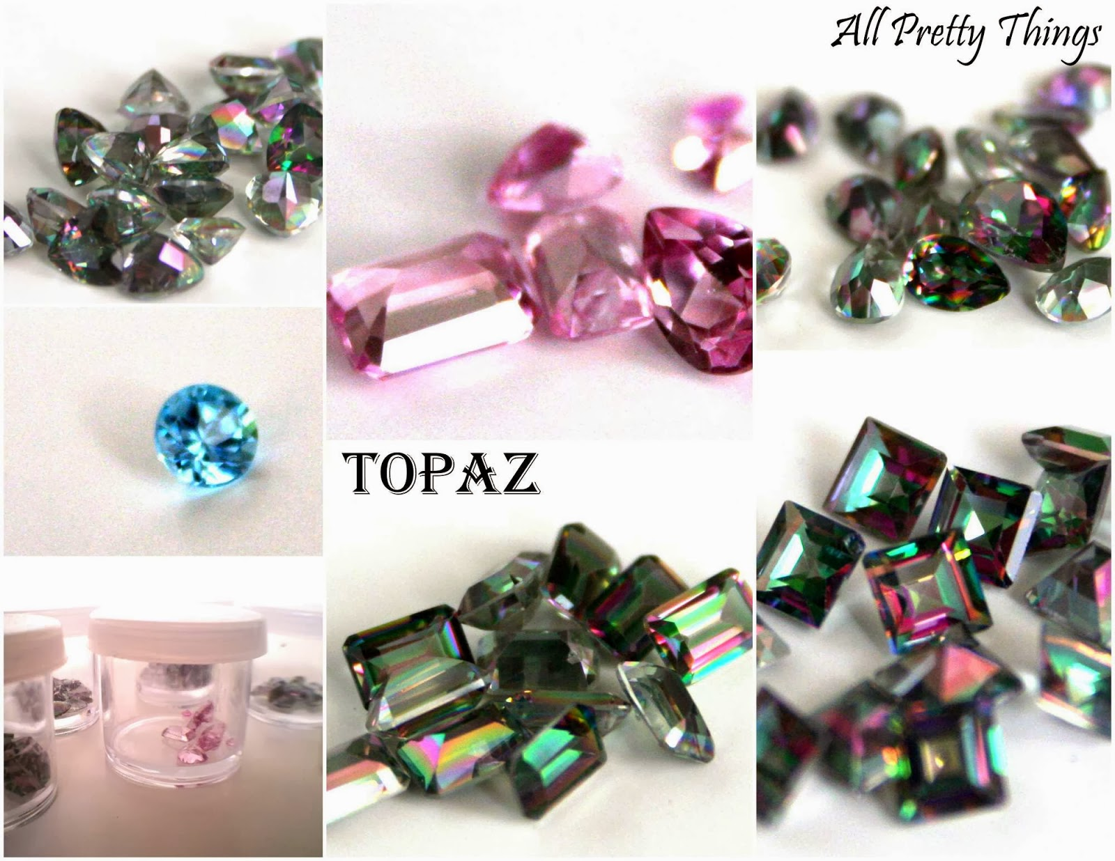 Topaz crystals :: All pretty Things