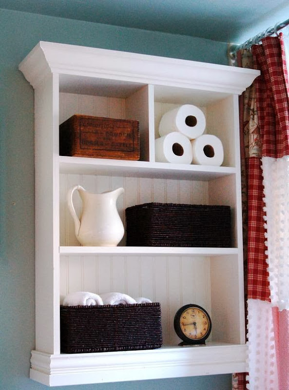 Bathroom Wall Shelf Ideas