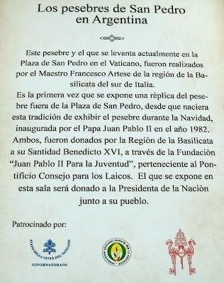 Los pesebres de San Pedro en el Museo del Bicentenario