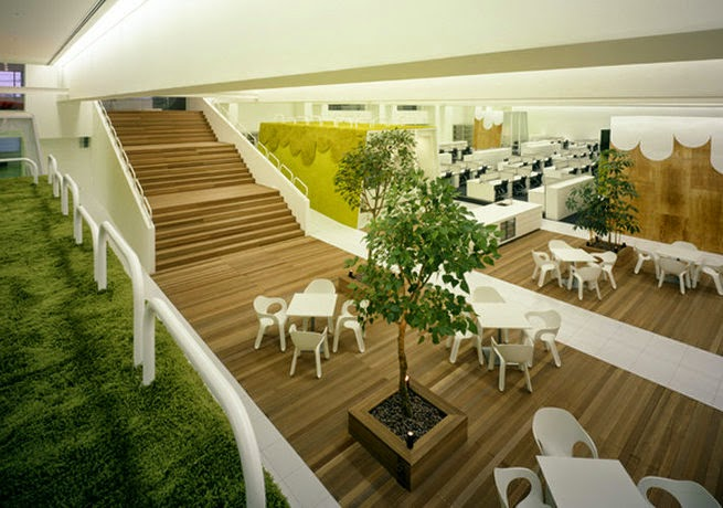 HAKUHODO Office Interior Design Ideas