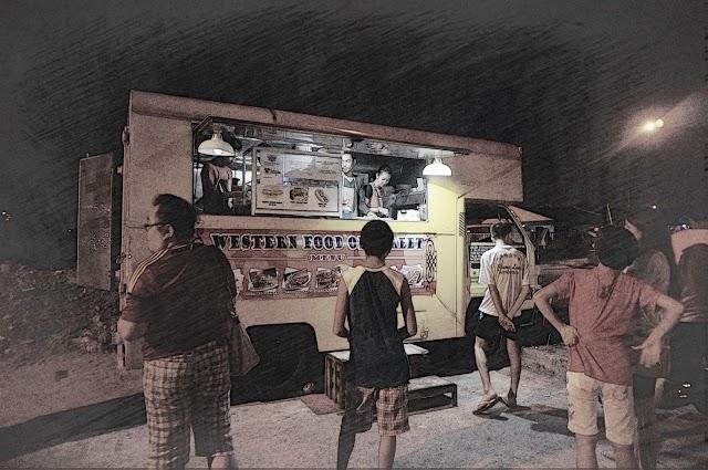 Butterworth : Food | 北海街灯下的货车厨房 @Taman Bagan