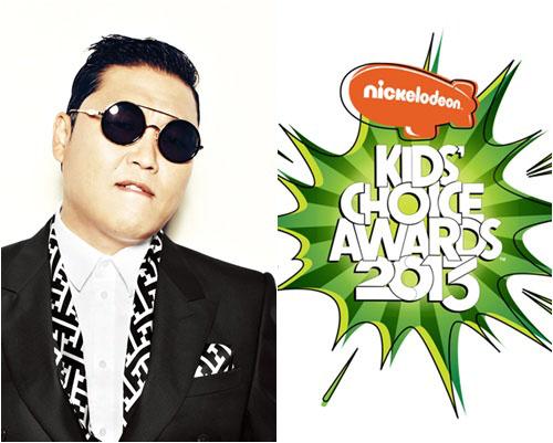 Psy Nickelodeon Kids Choice Award