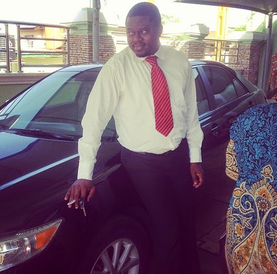 muyiwa ademola new car