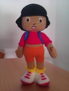 FOTOS AMIGURUMIS CEDUPO Dora+exploradora