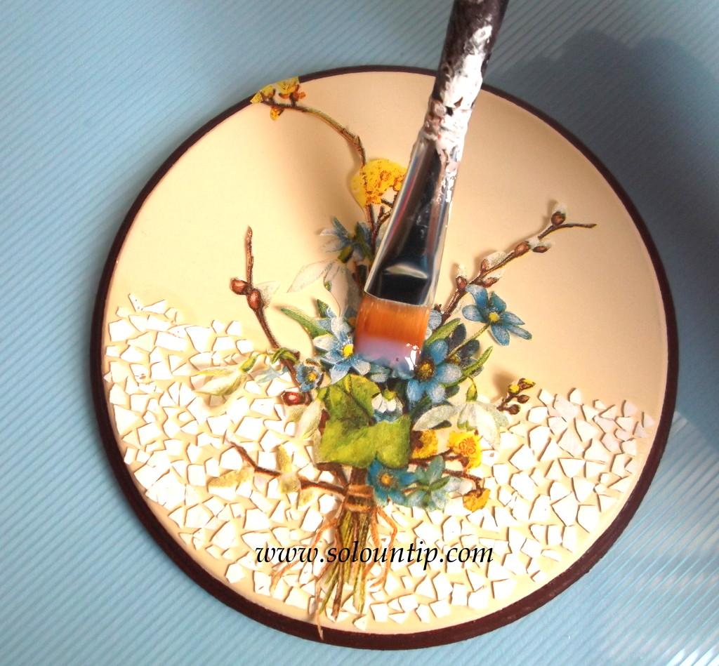 Curso de como decorar en madera - Pegamento para decoupage ...