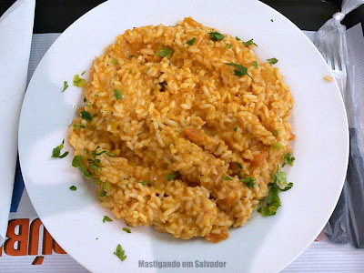 Risotto Mix: Porção do Risoto de Salmão