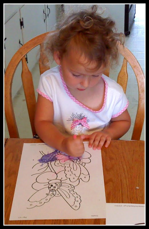 They also colored these butterfly coloring pages . title=