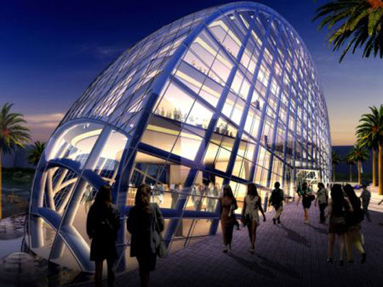 James Law Cybertecture, Cybertecture Egg, Office Building, Mumbai