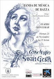 CONCIERTO DE SANTA CECILIA - TEATRO MONTEMAR - BAEZA - VIERNES 23 DE NOVIEMBRE 2012 - 21'00H
