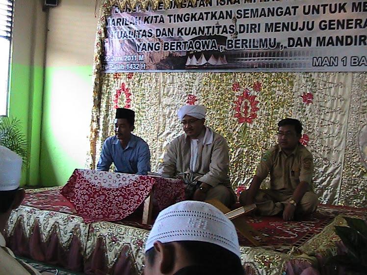 Kepala Sekolah Bersama Habib Idrus Bin Muhammad Alaydrus
