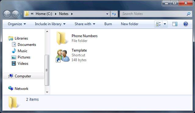 ghi chú ngắn trong thanh tác vụ của Windows 3