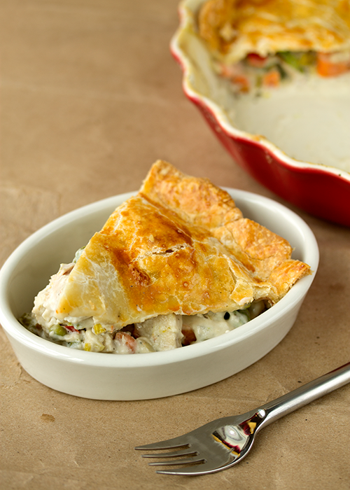 Wilde in the Kitchen: CTB 2014 - Deep Dish Chicken Pot Pie