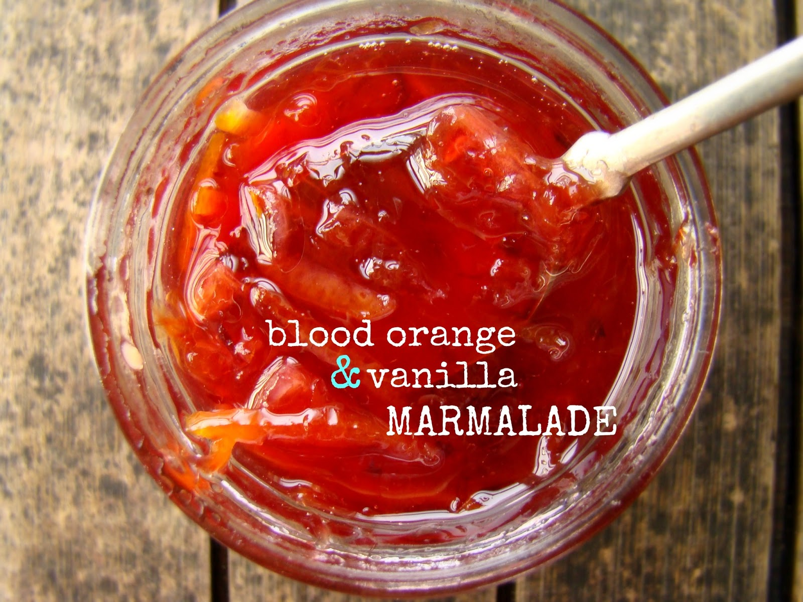 Family Feedbag: Blood orange & vanilla marmalade