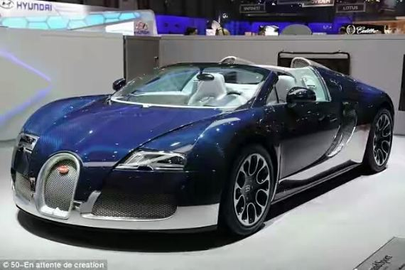 See the new Bugatti (photos)