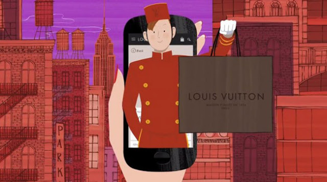 LOUIS VUITTON AND JORDI LABANDA APP MOVILE