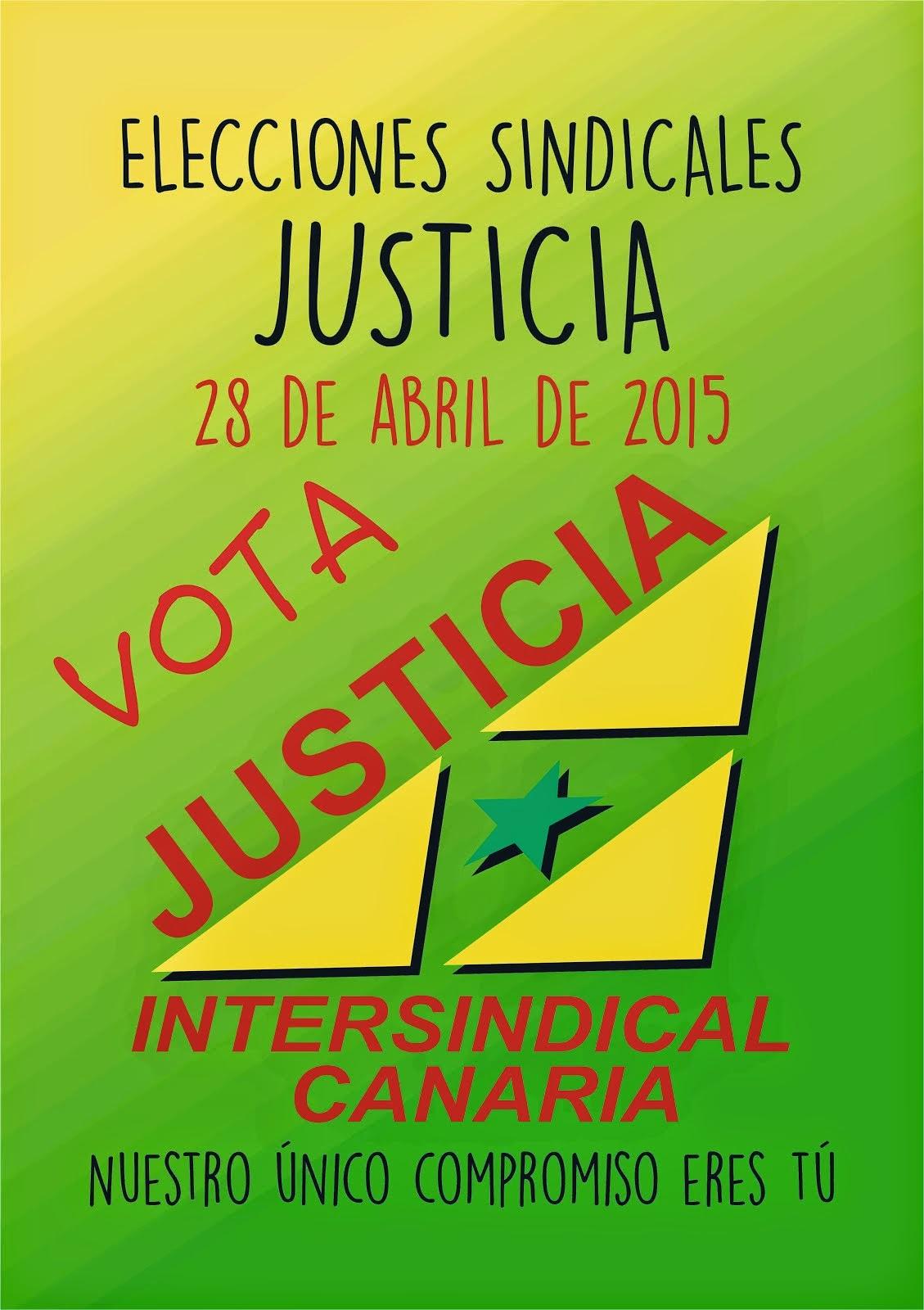 ELECCIONES SINDICALES JUSTICIA