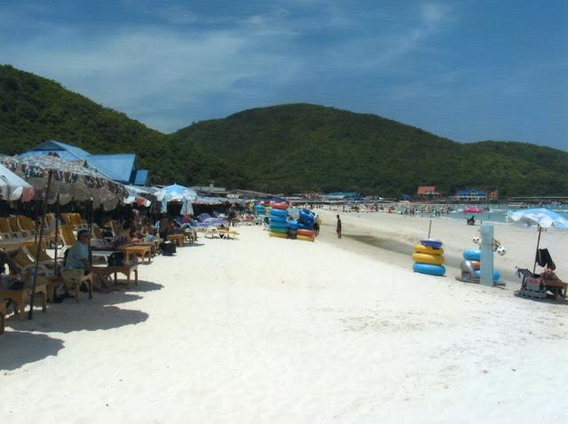 coral island pattaya beach