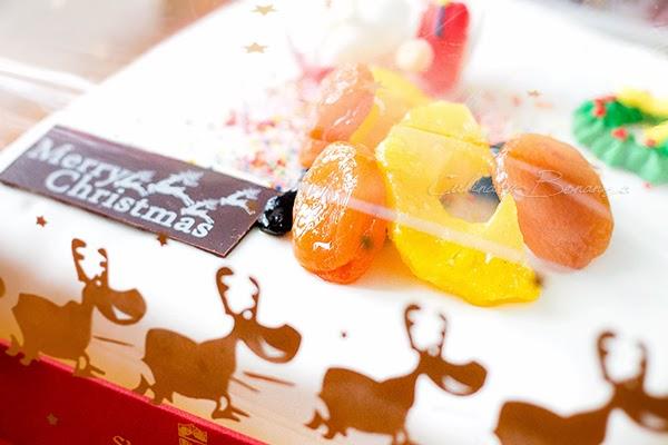 Christmas Fruit Cake from Shangri-la Hotel Jakarta