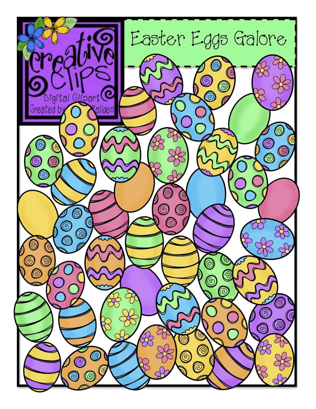 the creative chalkboard easter egg clipart freebie challenge