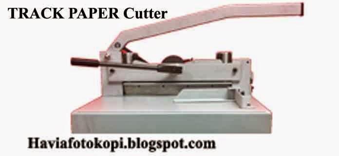 Track Manual Paper Cutter