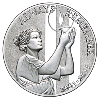 9/11 Official Medal 2011_Obverse