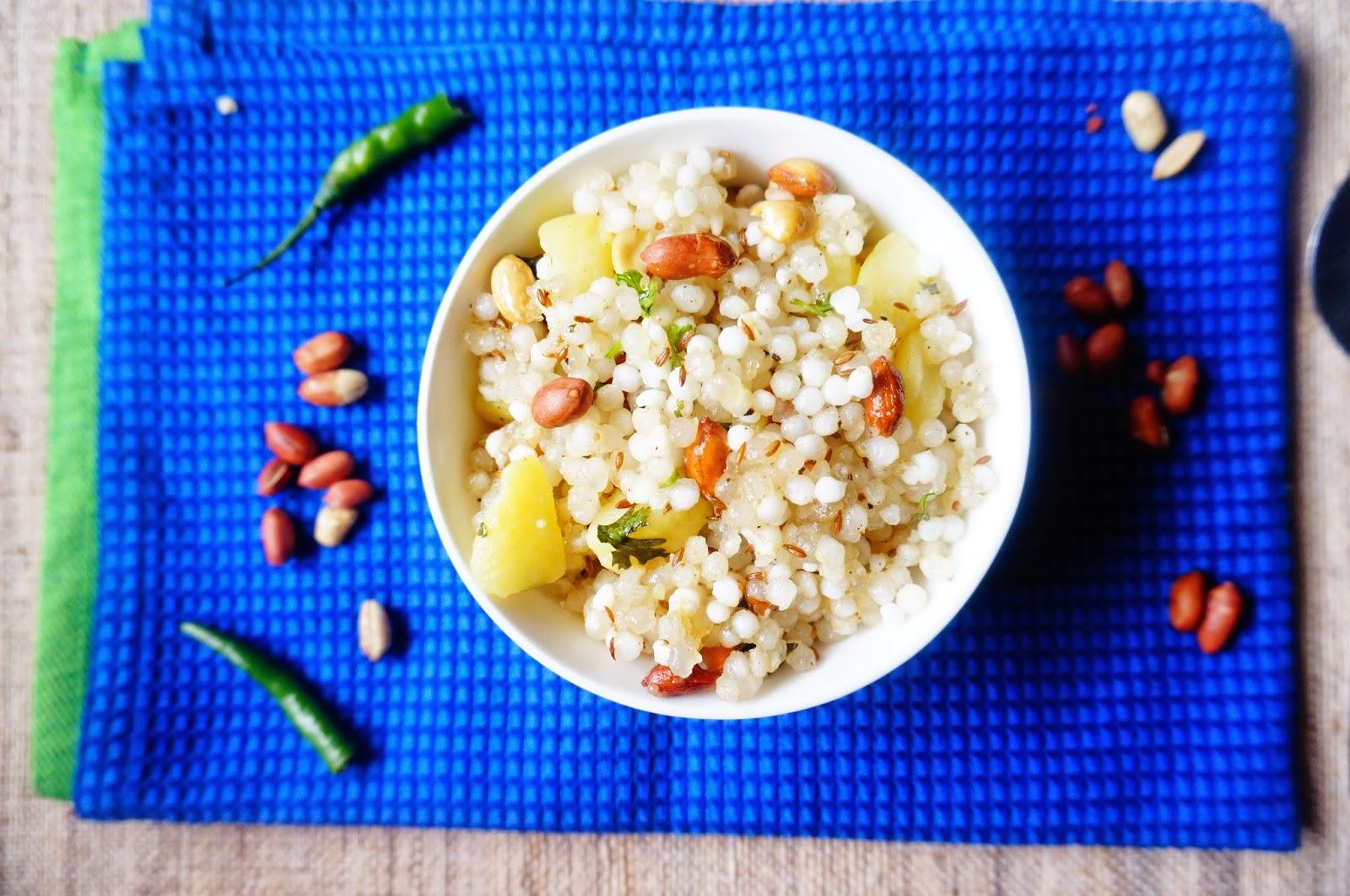 Sabudana Khichdi,Sabudana Chaat,Pearl Sago, vrat ka khanna,fasting food