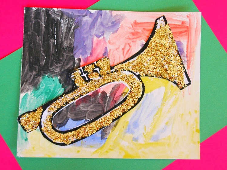 Process Art trumpet jazz music lesson