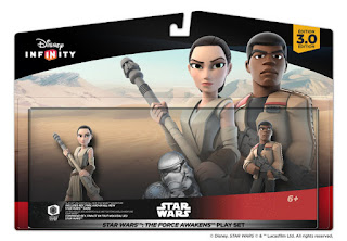 TOYS : JUGUETES - DISNEY Infinity 3.0  Pack Rey & Finn | Star Wars Play Set  El Despertar de la Fuerza - The Force Awakens  Figuras - Muñecos - Videojuego  Comprar en Amazon España & buy Amazon USA