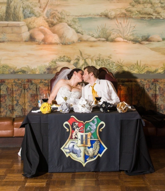 Casamento inspirado em Harry Potter