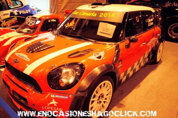 Mini WRC de Monzon en Madrid Motor Days