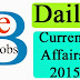 Today Current Affairs | 16th May, 2015 Daily General Awareness bits Download pdf