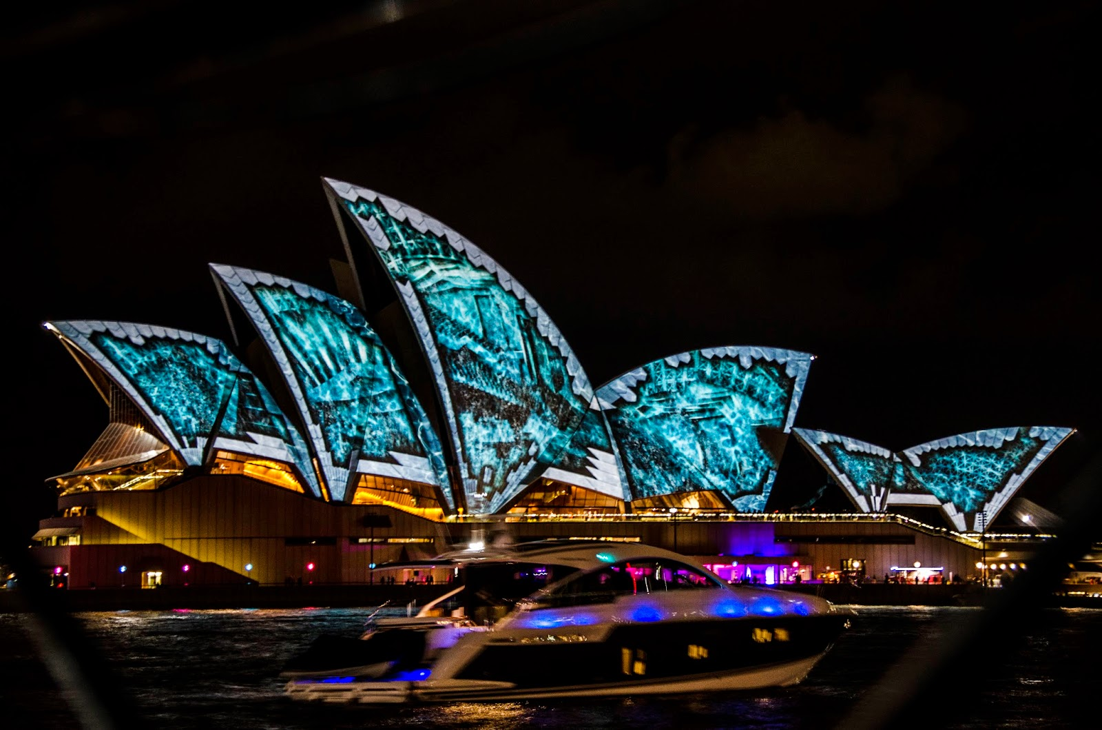 Opera House Vivid Sydney 2014