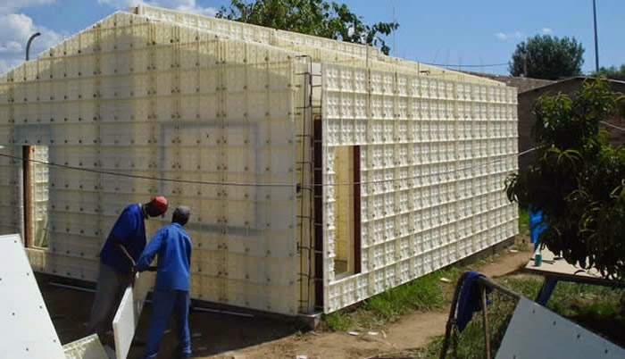 Moladi reduces high costs of conventional building for Low cost home construction