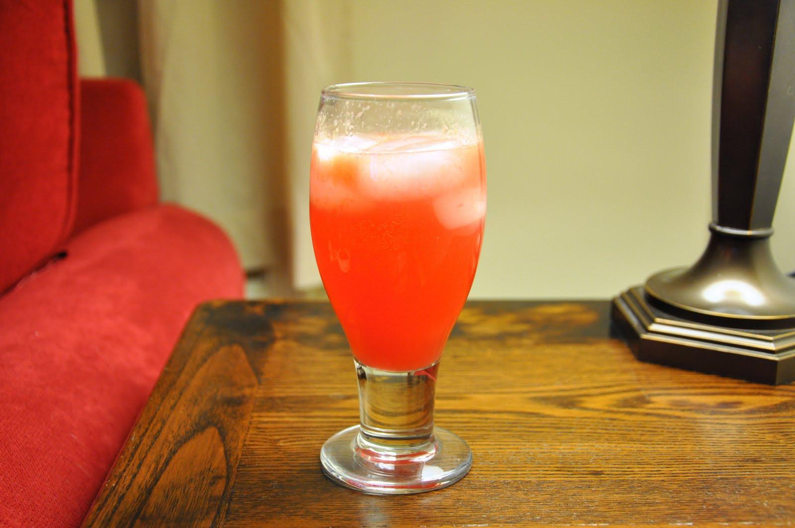 Uncontrolled Experiment: Blood Orange Gin Sparkler