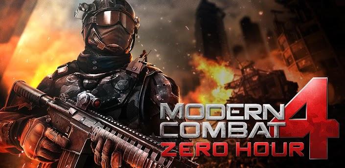 Modern Combat 4 Zero Hour Android Sınırsız Savaş Mücadele Kredisi Hileli Full APK DATA İndir - androidliyim