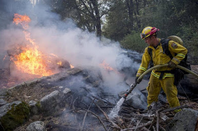 Containment on Kyburz hearth at 30%; Berryessa blaze at 20%