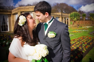 our wedding in Heaton park in 2009