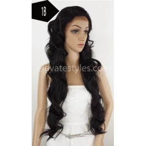 Beshe Synthetic Lace Front Wig Lace- 301