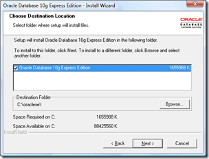 Instal oracle Express Edition 11g