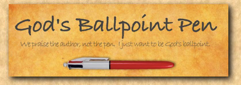 God's Ballpoint Pen