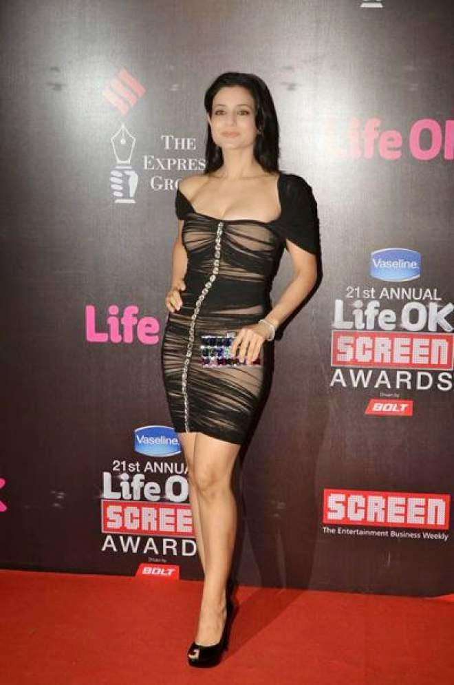 Shoking Ameesha Patel Wardrobe Malfunction Photo