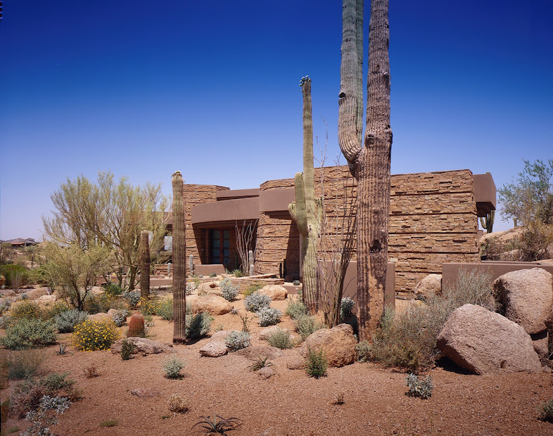 Modern Desert House For Luxury Life In The Nature, Scottsdale, Arizona title=