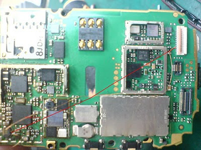 Trik Jumper Nokia 5800 Xpress Music LCD Light Solutio