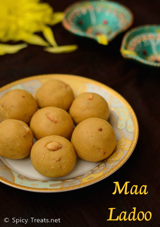Roasted Gram Dal Laddu