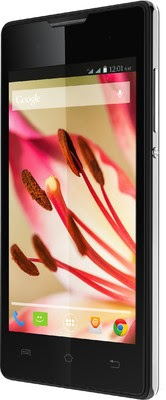 Lava Iris 410 (3 MP, (GSM + GSM), 4″,  Android v4.4 OS, 0.3 MP Secondary Camera) for Rs 3899