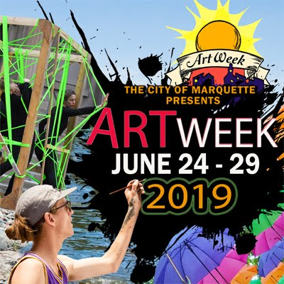 This is Art Week in Marquette